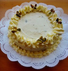 Cheesecake de Pistachos
