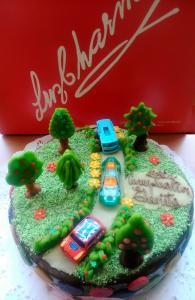 Torta Cumpleaños Infantil 40P