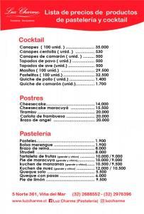 Lista de productos y precios 2